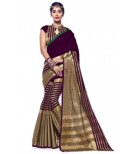 Ora Sangria Designer Wear Cotton Saree