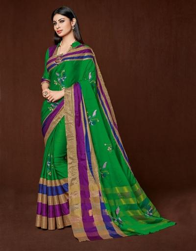 Aanya Designer Wear Cotton Saree