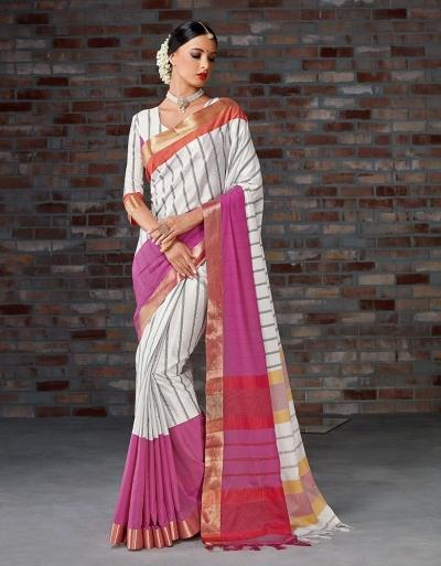 Ryka Festive Wear Cotton Saree
