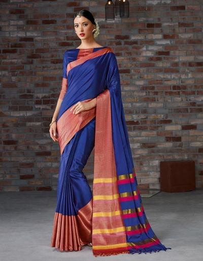 Mayra Festive Wear Cotton Saree