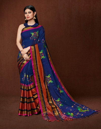 Oshee Designer cotton saree
