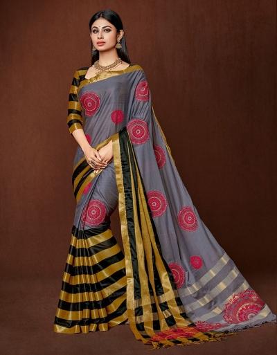 Moshika Designer cotton saree