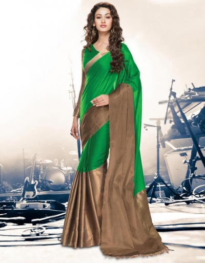 Aryaa Lush Party Wear Cotton Saree