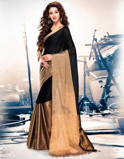 Aryaa ONYX Party Wear Cotton Saree