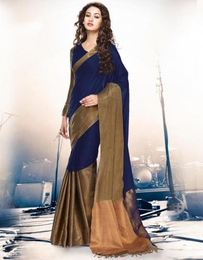 Aryaa Symphony Party Wear Cotton Saree