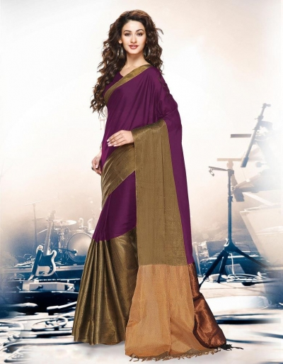 Aryaa Sangria Party Wear Cotton Saree