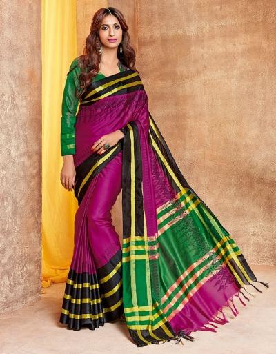Jhankaar Designer Wear Cotton Saree