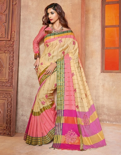 Ananta Designer Wear Cotton Saree