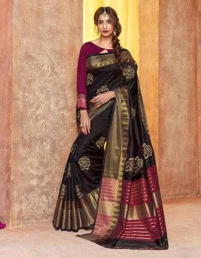 Aarsi Designer Wear Cotton Saree