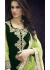 Green Colored Embroidered Net Lehenga Choli 88009
