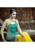 Yellow Colored Embroidered Net Lehenga Choli 88012