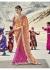 Multi Colored Printed Faux Georgette Saree 2008