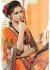 Multi Colored Printed Faux Georgette Saree 75045