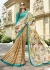 Multi Colored Printed Saree 1702