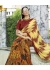 Yellow Colored Printed Saree 1712