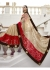 Beige Georgette Chiffon Traditional Embroidered Saree 1404