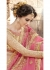 Pink Colored Embroidered Faux Georgette Festive Saree 87089
