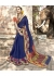 Blue Colored Woven Art Silk Festive Saree 5205