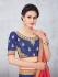 Party Wear Blue Lehenga 137