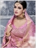 Party Wear Pure banarsi silk baby pink Lehenga 25001