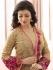 Ayesha Takia Beige color party wear salwar kameez