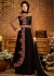 Black georgette party wear anarkali 2491