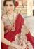 Maroon Chiffon Embroidered Wedding Saree 4210