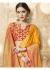 Yellow Banarasi Silk Woven Festive Saree 3901