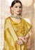 Golden Banarasi Silk Woven Festive Saree 3905