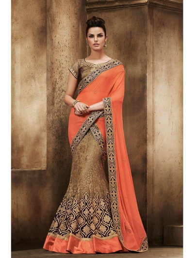 Party Wear Saree 5037
