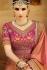 kollybollyethnics peach green silk wedding sarees 6001