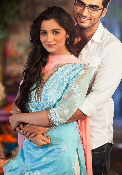 Alia bhatt 2 states movie blue anarkali
