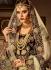 Embroidered velvet a line lehenga choli in maroon 5004
