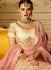 Pink banglori silk embroidered work a line lehenga choli 5008