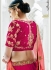 Gajri silk wedding lehenga 1310