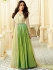 Kareena Kapoor cream and green georgette straight cut salwar kameez
