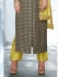 Grey and Liril green color georgette wedding wear salwar kameez