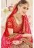 Pink Pure Georgette Net Bandhej Printed Bridal Saree 4111