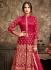 Sonal Chauhan Pink Anarkali Suit 5101