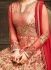 Sonal Chauhan Red Anarkali Suit 5105