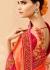Peach pink wedding saree 8004