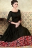 Black satin party wear anarkali 5301