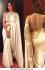 Bollywood Style Shilpa shetty white and gold saree