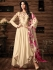 Sonal chauhan off white georgette anarkali 4808