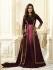 Kareena Kapoor Wine color georgette straight cut salwar kameez