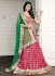 Intricate Magenta Color Georgette Party Wear Lehenga Choli