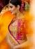 Chikku color silk wedding saree