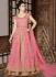 Pink net wedding Lehenga kameez