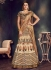 Beige color raw silk wedding lehenga choli