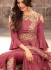 Sonal Chauhan Onion pink georgette wedding anarkali